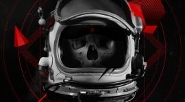 Dead Astronaut Wallpaper Background