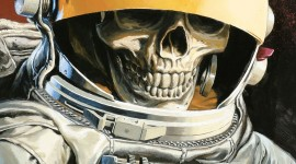 Dead Astronaut Wallpaper For IPhone Download