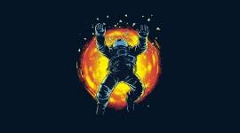 Dead Astronaut Wallpaper High Definition