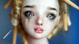 Dolls Crying Wallpaper For IPhone