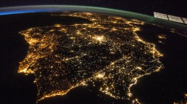 Earth At Night Desktop Wallpaper For PC