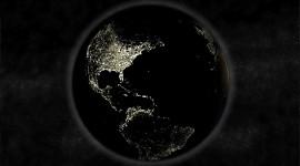 Earth At Night Desktop Wallpaper HD