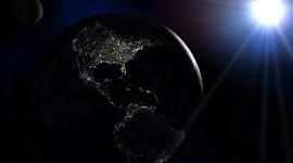 Earth At Night Wallpaper Download