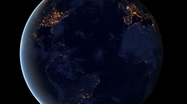 Earth At Night Wallpaper Download Free