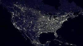 Earth At Night Wallpaper Free