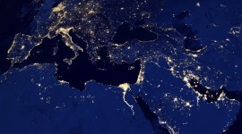 Earth At Night Wallpaper High Definition