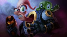 Earthworm Jim Desktop Wallpaper