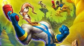 Earthworm Jim Wallpaper Background