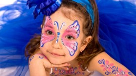 Face Painting Aircraft Picture