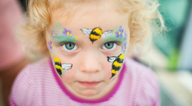 Face Painting Wallpaper