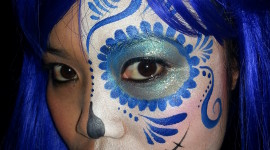 Face Painting Wallpaper For IPhone