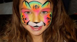 Face Painting Wallpaper For Mobile