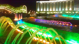 Fountain Lighting Aircraft Picture