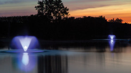 Fountain Lighting Image Download