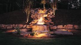 Fountain Lighting Photo