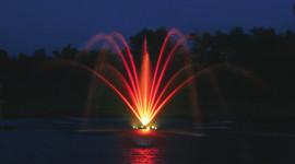 Fountain Lighting Photo Free