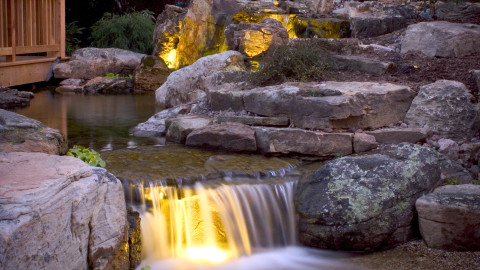 Fountain Lighting wallpapers high quality