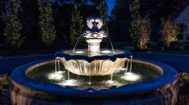 Fountain Lighting Wallpaper Gallery