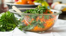 French Carrot Salad Wallpaper