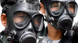 Gas Masks Desktop Wallpaper For PC