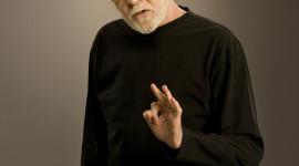 George Carlin Wallpaper For IPhone Free