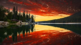 House River Sunset Image Download
