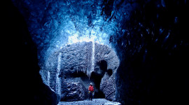 Ice Cave Wallpaper Free