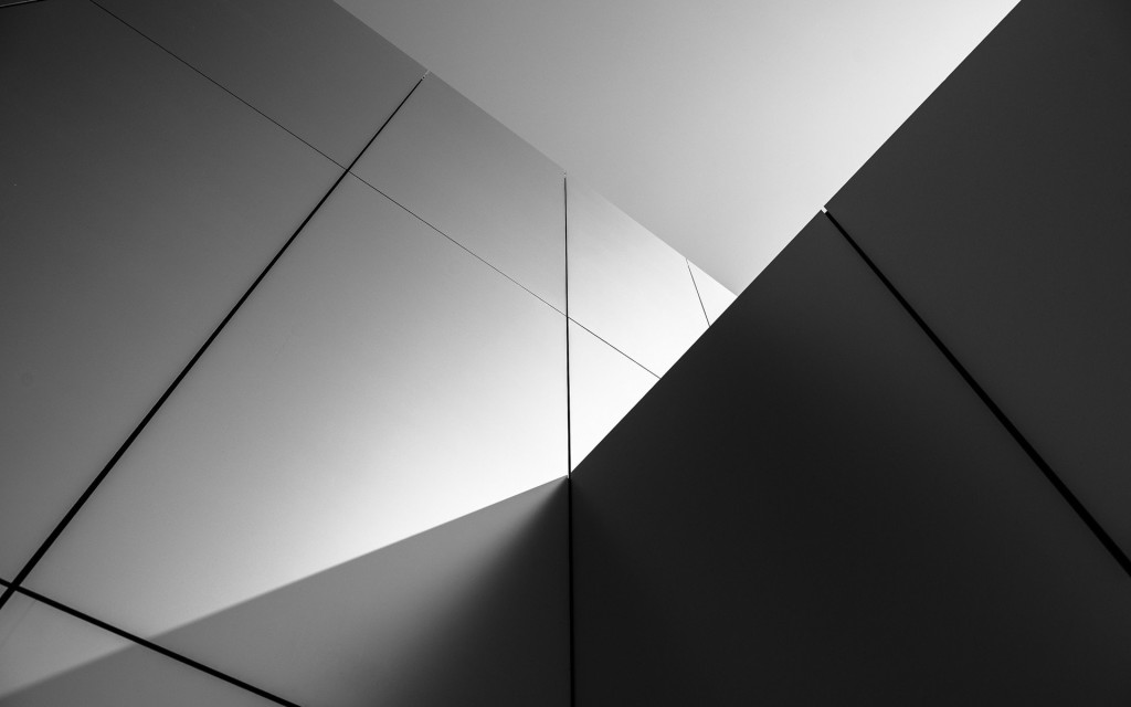 Monochrome Cubes Wallpaper wallpapers HD