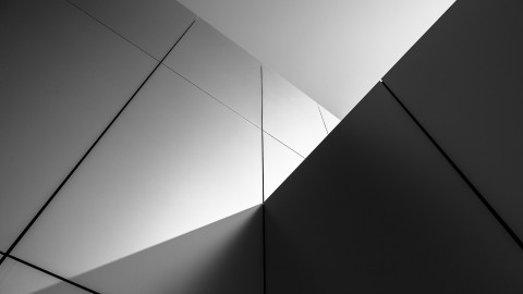 Monochrome Cubes Wallpaper wallpapers high quality