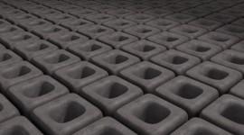 Monochrome Cubes Wallpaper Wallpaper For PC