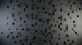 Monochrome Cubes Wallpaper Wallpaper Free