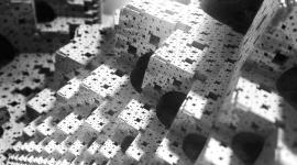 Monochrome Cubes Wallpaper Wallpaper Gallery