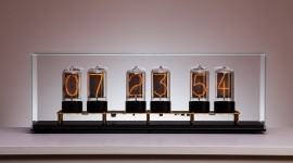 Nixie Tube Clock Wallpaper 1080p