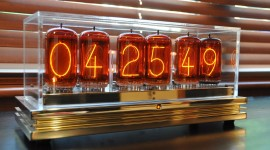 Nixie Tube Clock Wallpaper Gallery