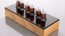 Nixie Tube Clock Wallpaper HD