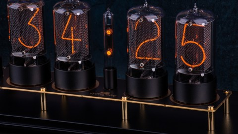 Nixie Tube Clock wallpapers high quality