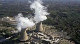 Nuclear Power Station Wallpaper