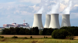 Nuclear Power Station Wallpaper Background
