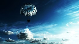 Parachuting Wallpaper