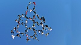 Parachuting Wallpaper Download