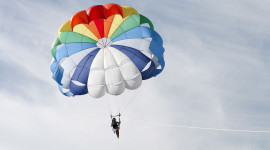 Parachuting Wallpaper High Definition