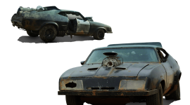 Post Apocalypse Car High Quality Wallpaper