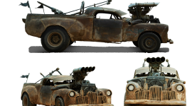 Post Apocalypse Car Wallpaper Download Free