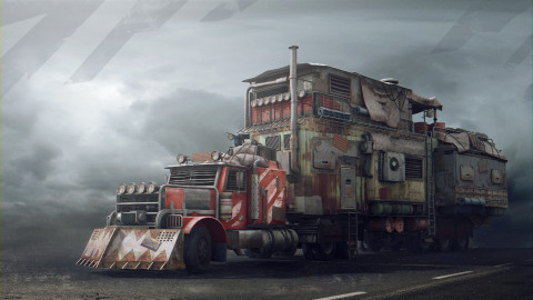 Post Apocalypse Car wallpapers high quality