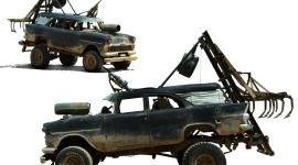 Post Apocalypse Car Wallpaper HQ