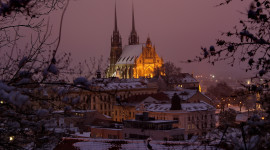 Roof City Winter Image Download