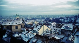 Roof City Winter Picture Download