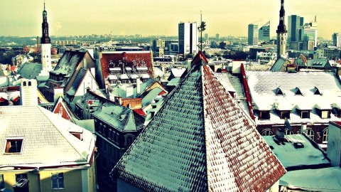 Roof City Winter wallpapers high quality