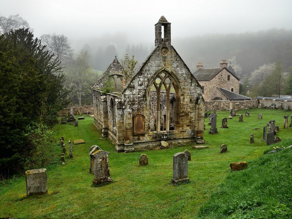 Ruined Church wallpapers HD