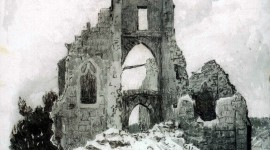 Ruined Church Wallpaper For IPhone